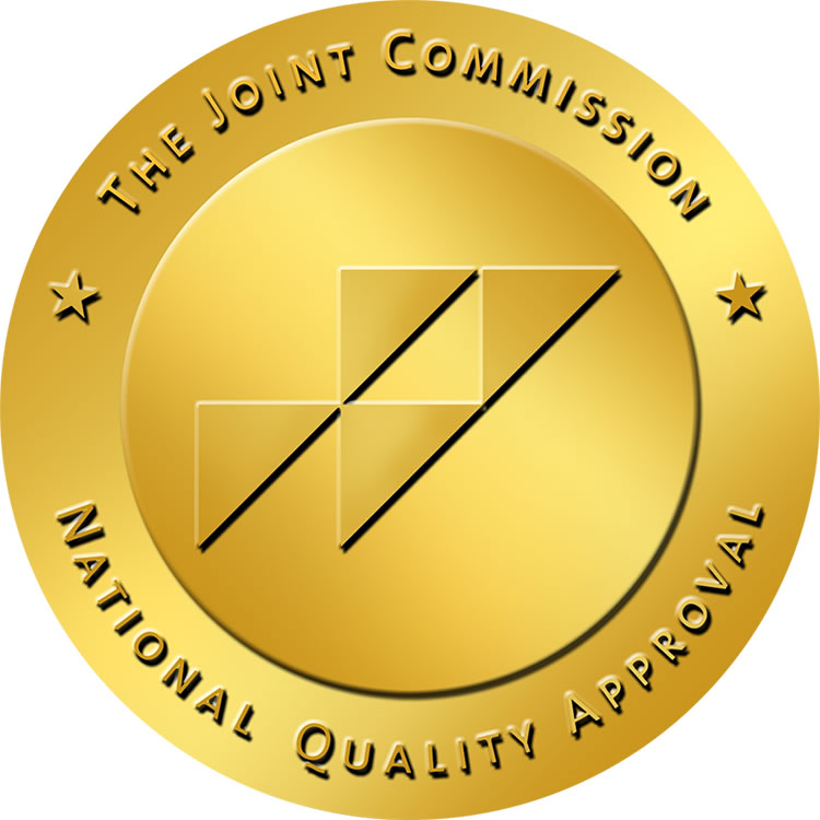 The Joint Commission National Quality Approval seal