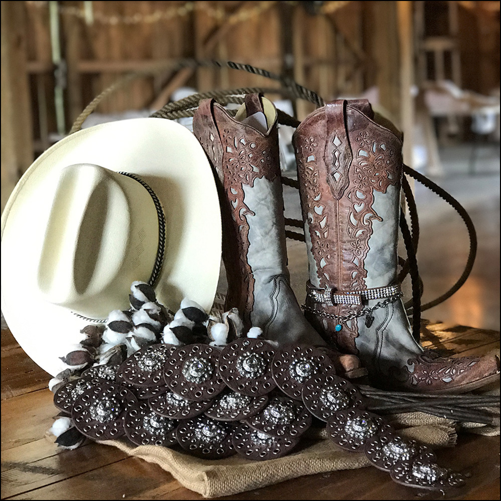 Shine up your boots and wear your best bling!