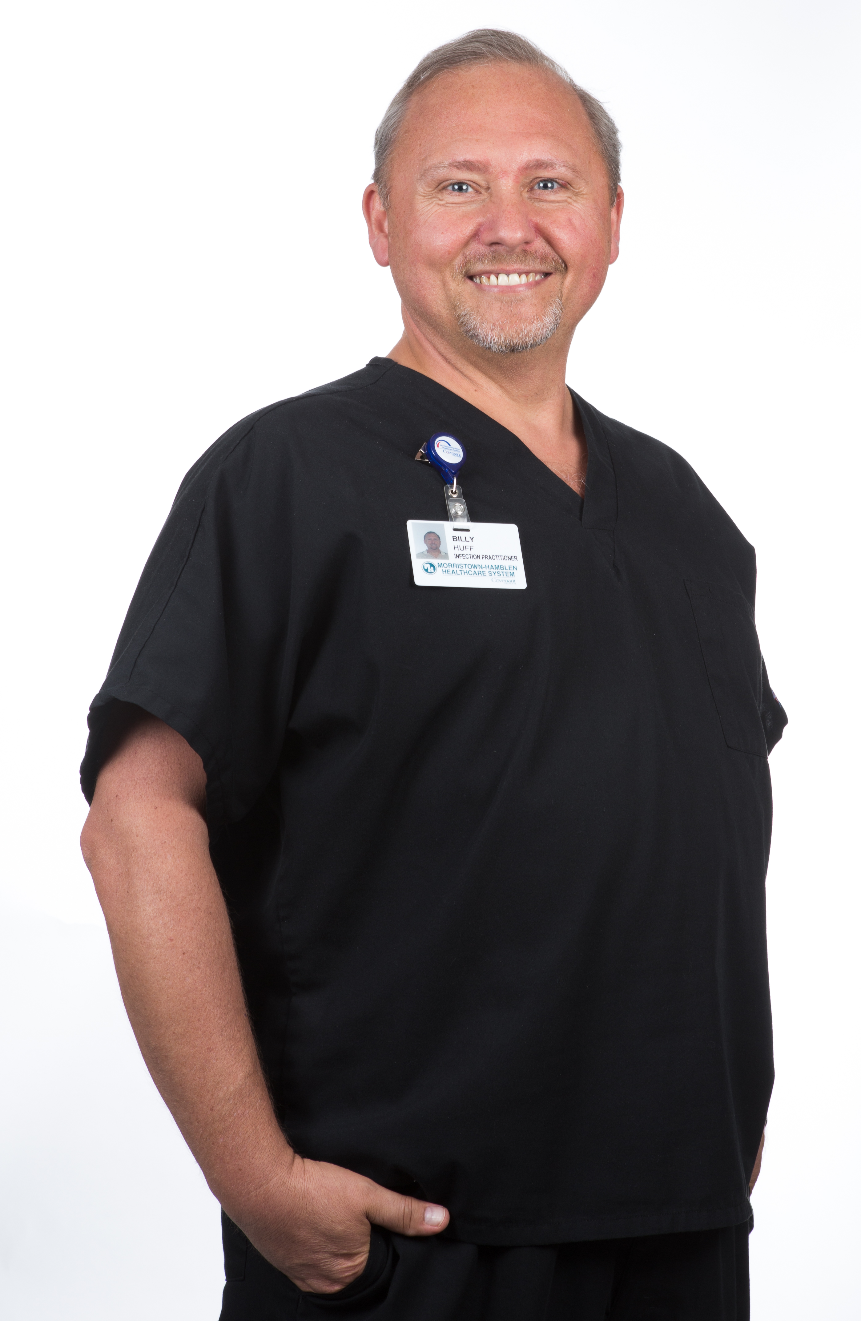 It's Meet the Staff Monday and today we are getting to know Billy Huff, BSN, Infection Practitioner