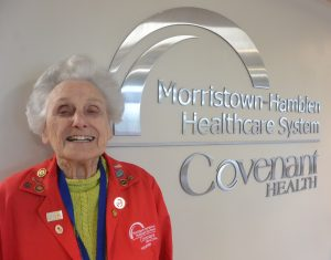 In honor of National Volunteer Week, we are featuring some of our volunteers. Today, we would like to introduce you to Marjorie Williams.