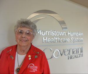 In conclusion of National Volunteer Week, we would like to introduce you to Florence Stubblefield.