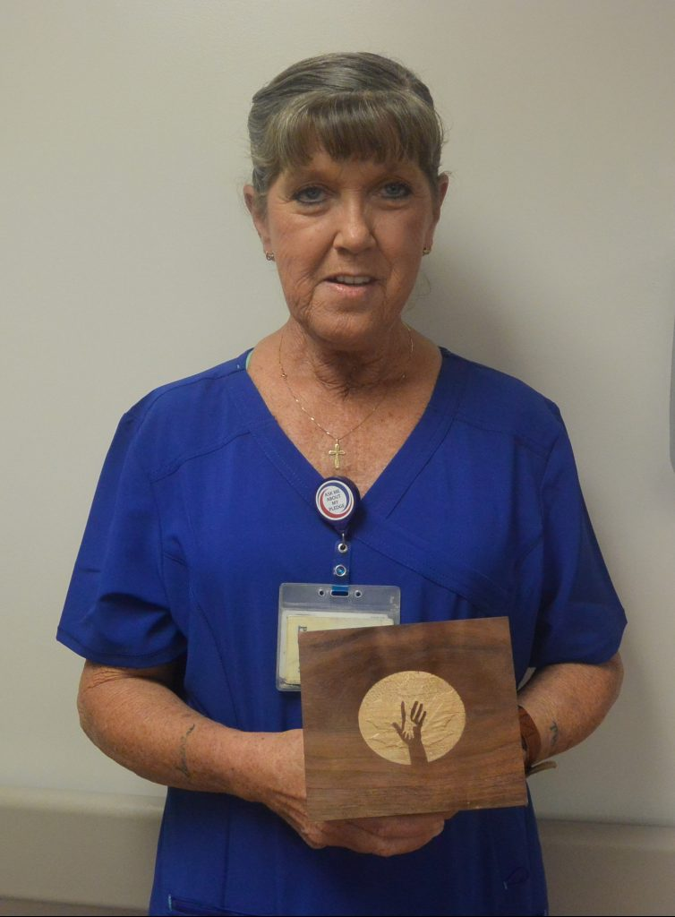Dot receives the July 2019 MAPLE award.