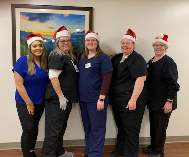 More of the MHHS Wound Care Center Staff