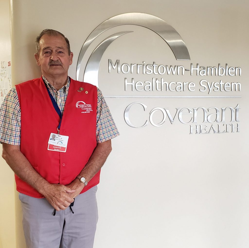 Billy Helton is August 2021 Volunteer of the Month