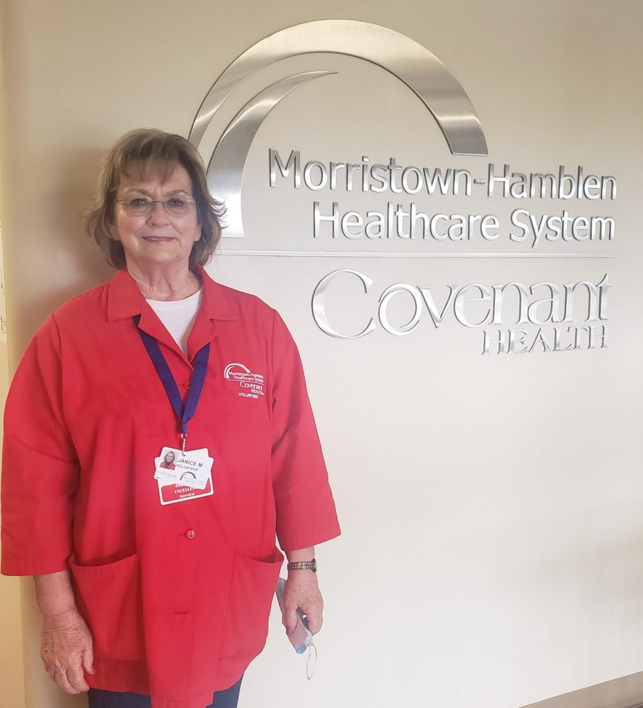 Janice Mills is the September 2021 Volunteer of the Month.